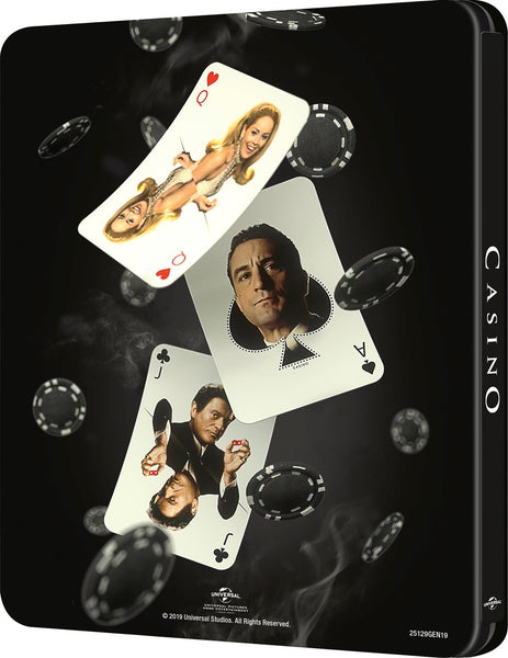 BluPack™ 003: Casino Blu-ray 4K+BD SteelBook EverythingBlu Exclusive