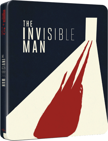 BluPack™ 012: The Invisible Man 4K + 2D Blu-ray Steelbook EverythingBlu Exclusive