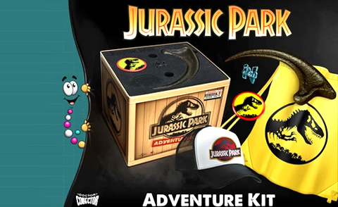 jurassic park adventure kit doctor collector