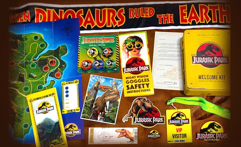 Jurassic Park Welcome Kit - Doctor Collector