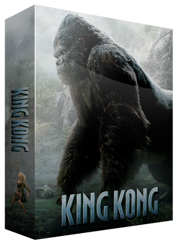 BluPack 002: King Kong Blu-ray SteelBook (4K + BD + Bonus BD) EverythingBlu Exclusive