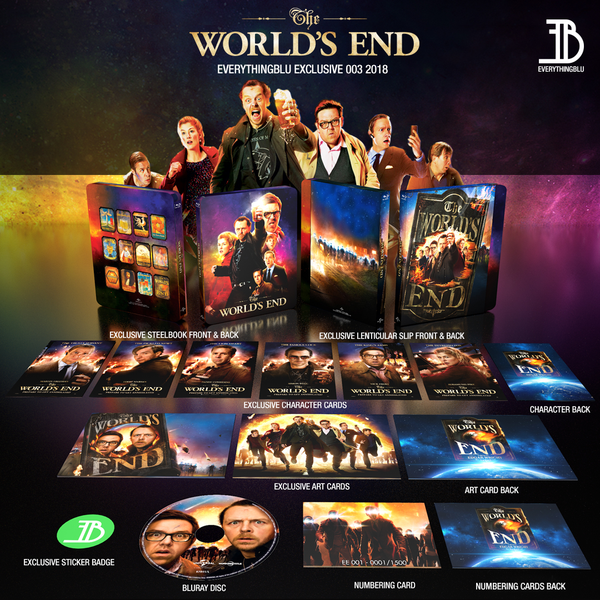 everythingblu exclusive the worlds end lenticular bluray steelbook
