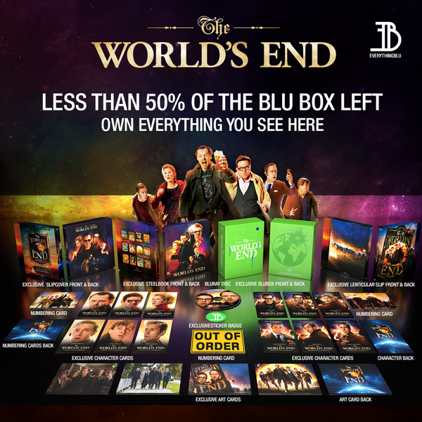 (EE 003) EverythingBlu Exclusive 003: The World's End Blu Box - Blu-ray SteelBook Collectors Edition