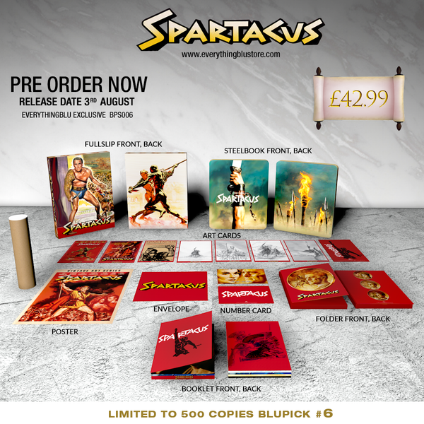 everythingblu spartacus 4k steelbook