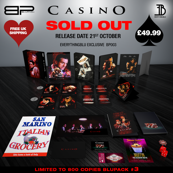 casino bluray 4k steelbook