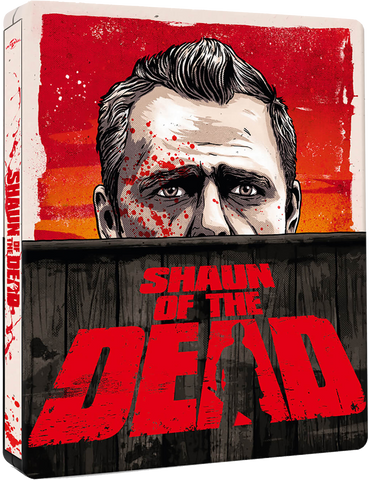 shaun of the dead 4k bluray steelbook