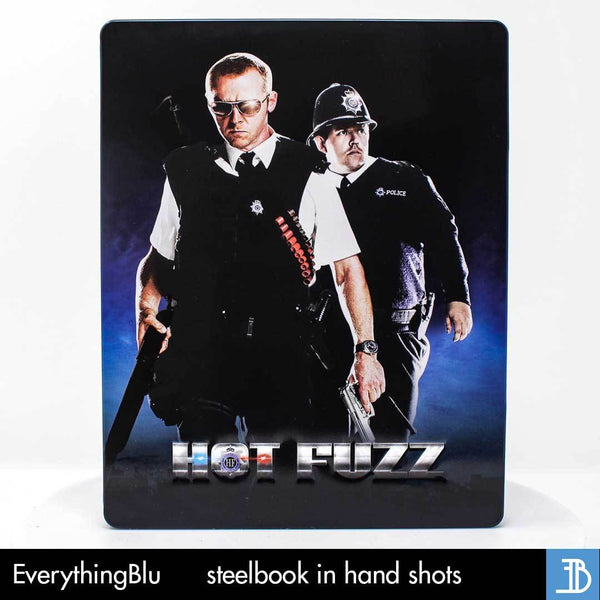 hot fuzz exclusive bluray steelbook