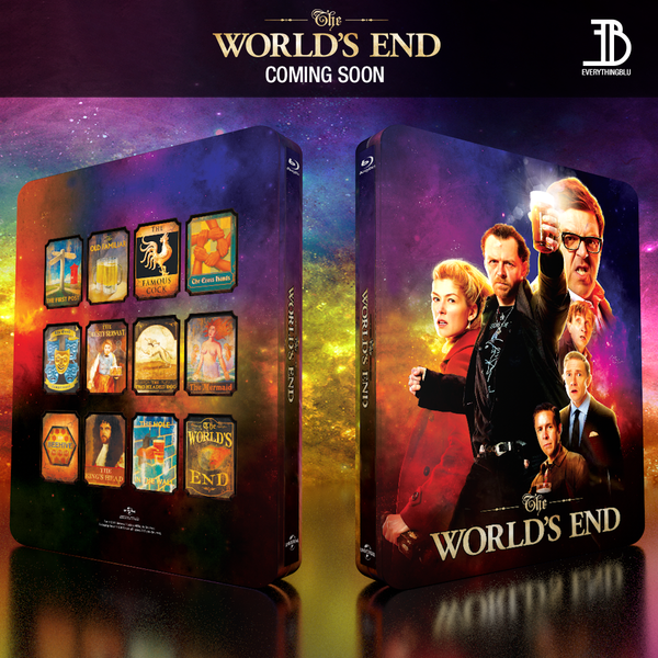 (EE 003) EverythingBlu Exclusive 003: The World's End Blu-ray SteelBook