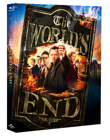 lenticular blu ray steelbook the worlds end