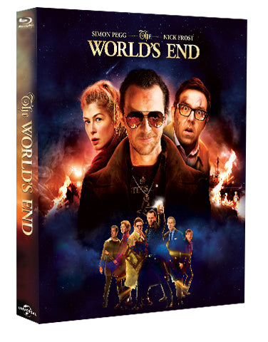 (EE 003) EverythingBlu Exclusive 003: The World's End Full Slip Blu-ray SteelBook