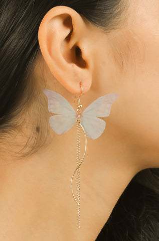 Purple Butterfly Cute Earrings #AL766