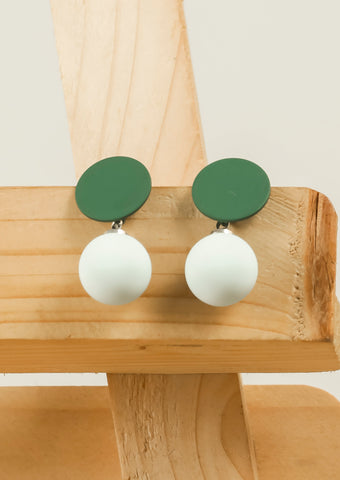 Green & Blue Cute Earrings #AL790 - Brinda's Store