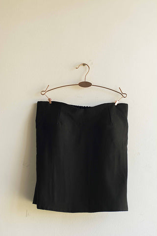 Women Black Tube Top - Brinda's Store