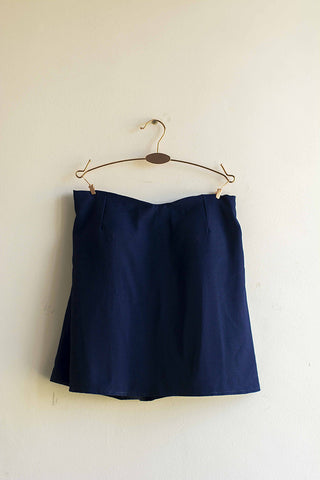 Women Blue Tube Top - Brinda's Store