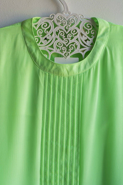 Green Patterned Regular Top - Brinda's Store