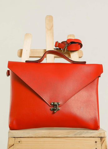 Red Sling Hang Bag #IBBL205 - Brinda's Store