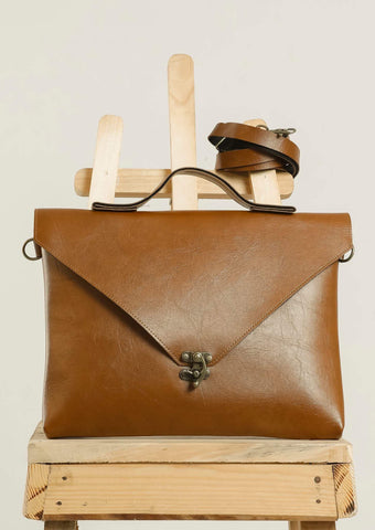 Brown Sling Hang Bag #IBBL203 - Brinda's Store