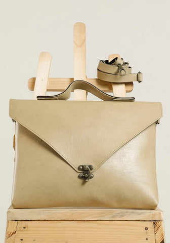 Tan Brown Sling Hang Bag #IBBL204
