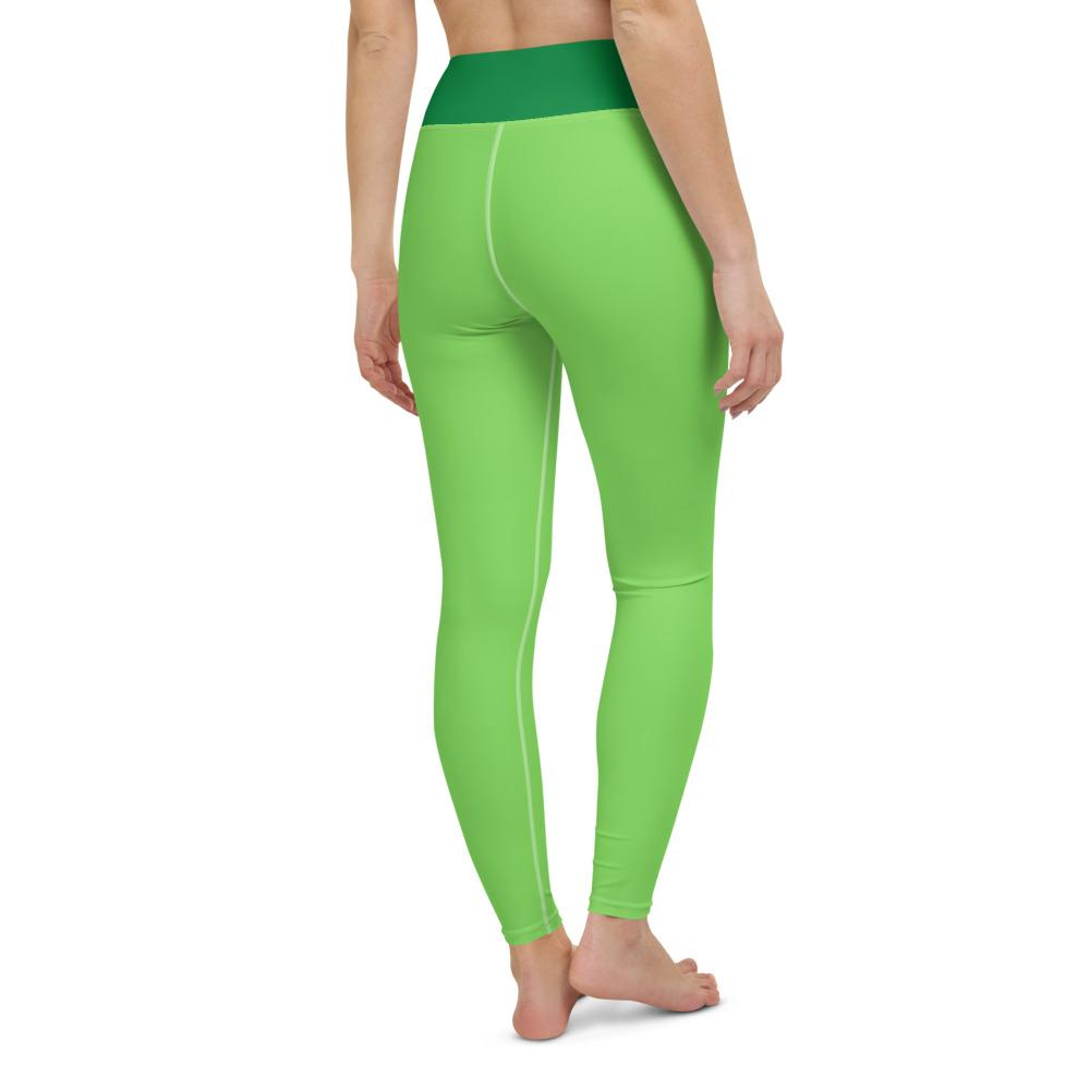 Yoga Leggings Green