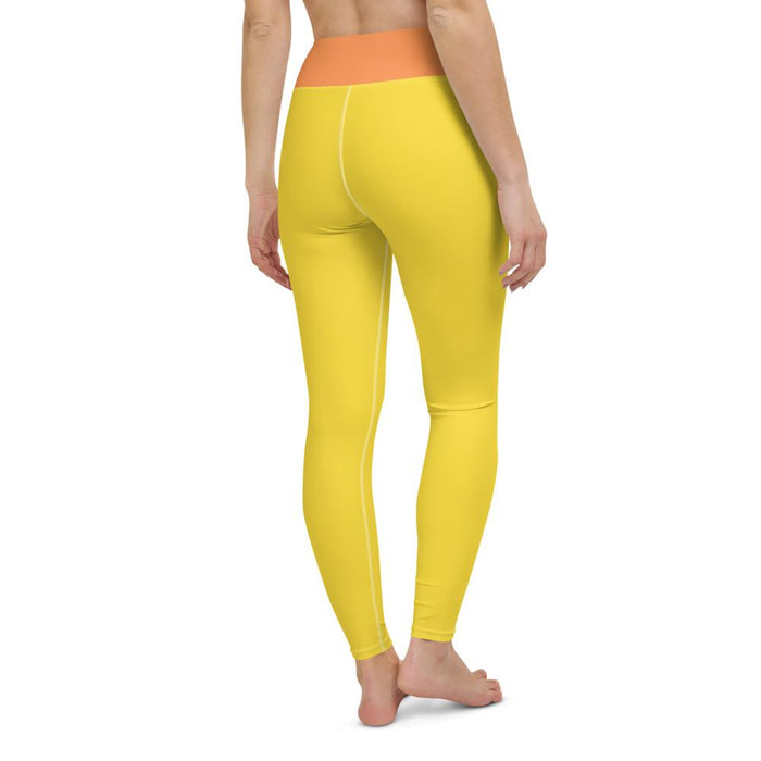 Yoga Leggings Yellow