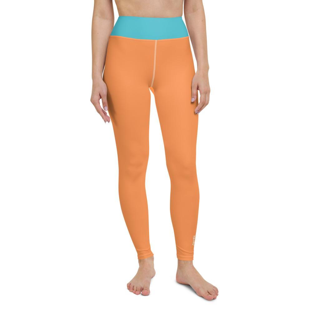 Yoga Leggings Orange