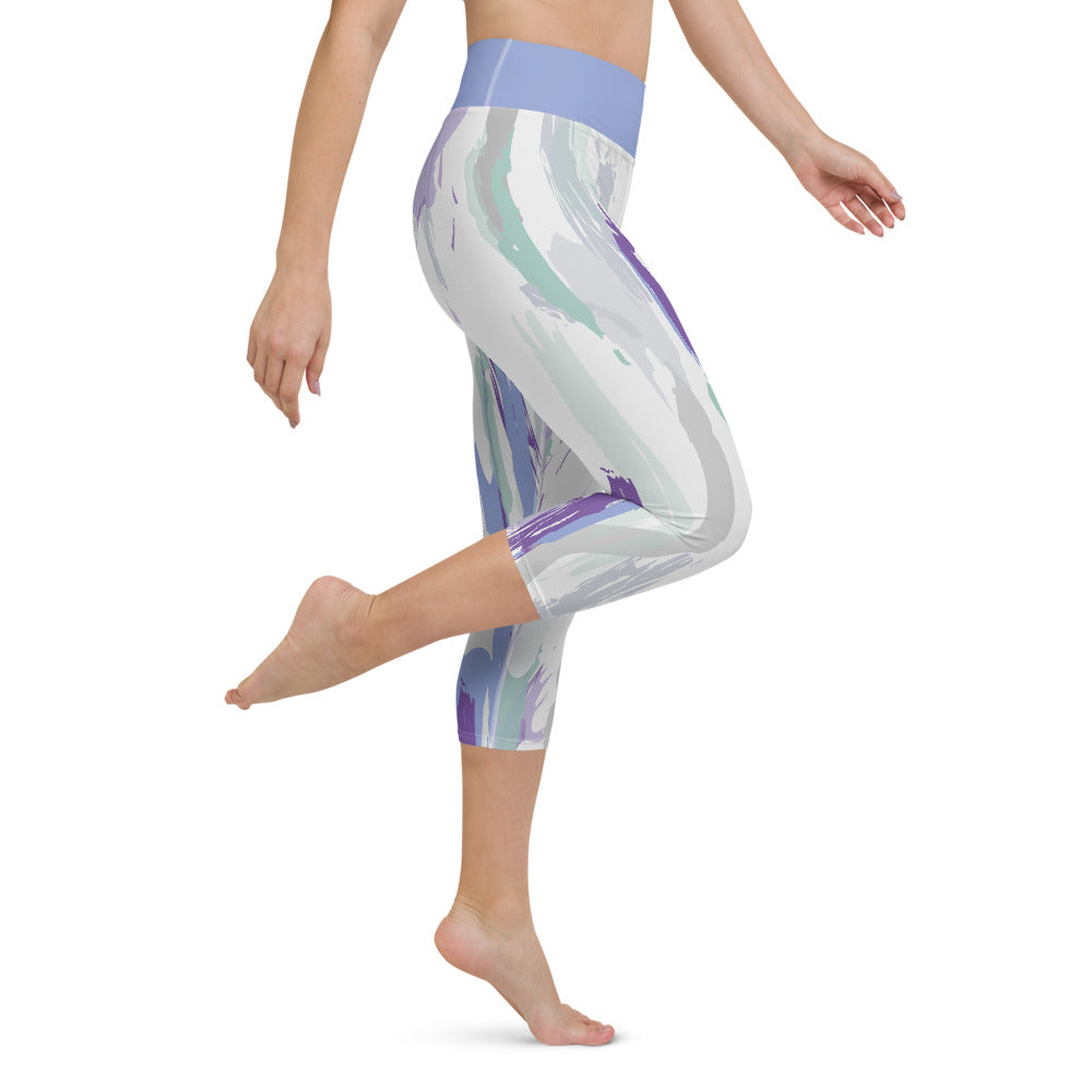 Yoga Capri Leggings Donna