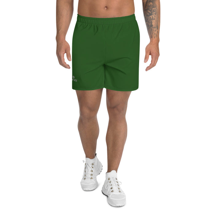 Men's Athletic Long Shorts Green