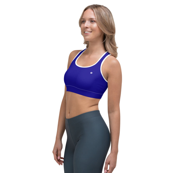 Sports Bra Blue Intense