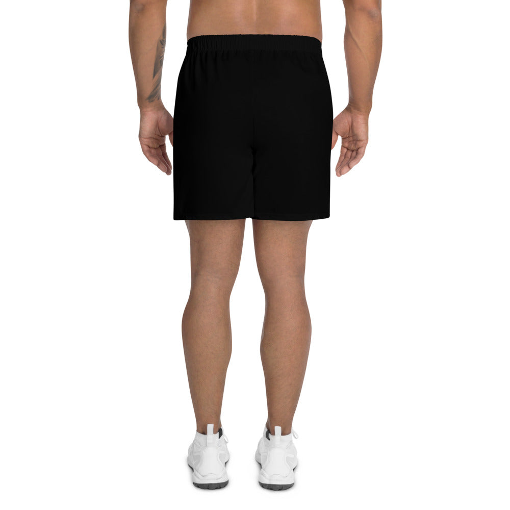 Men's Athletic Long Shorts Black