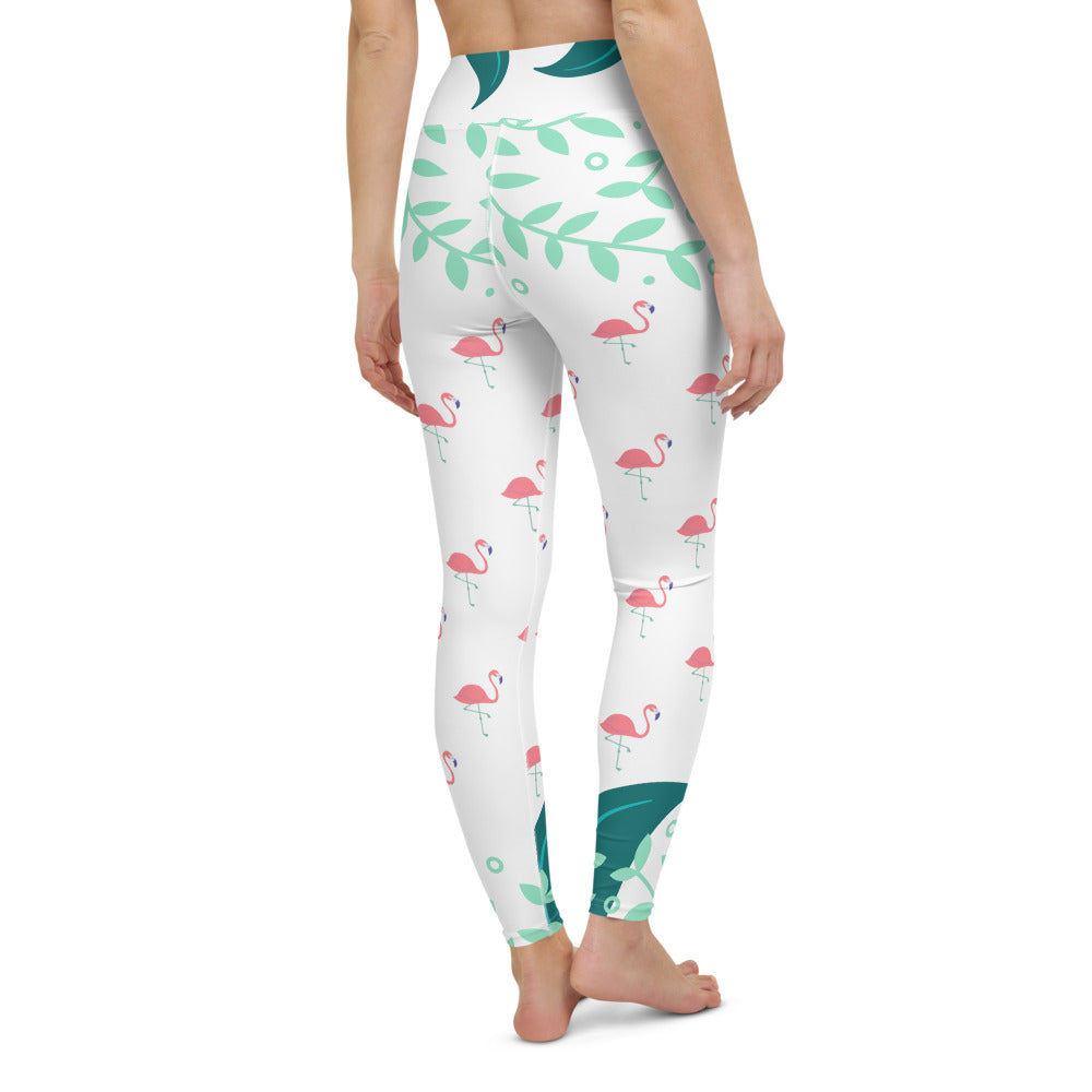 Yoga Leggings Flamingo