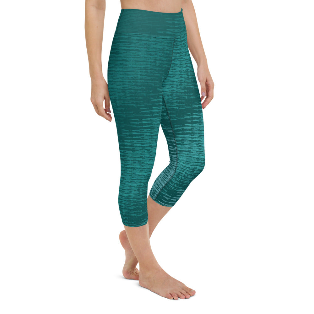 Yoga Capri Leggings Bonestick