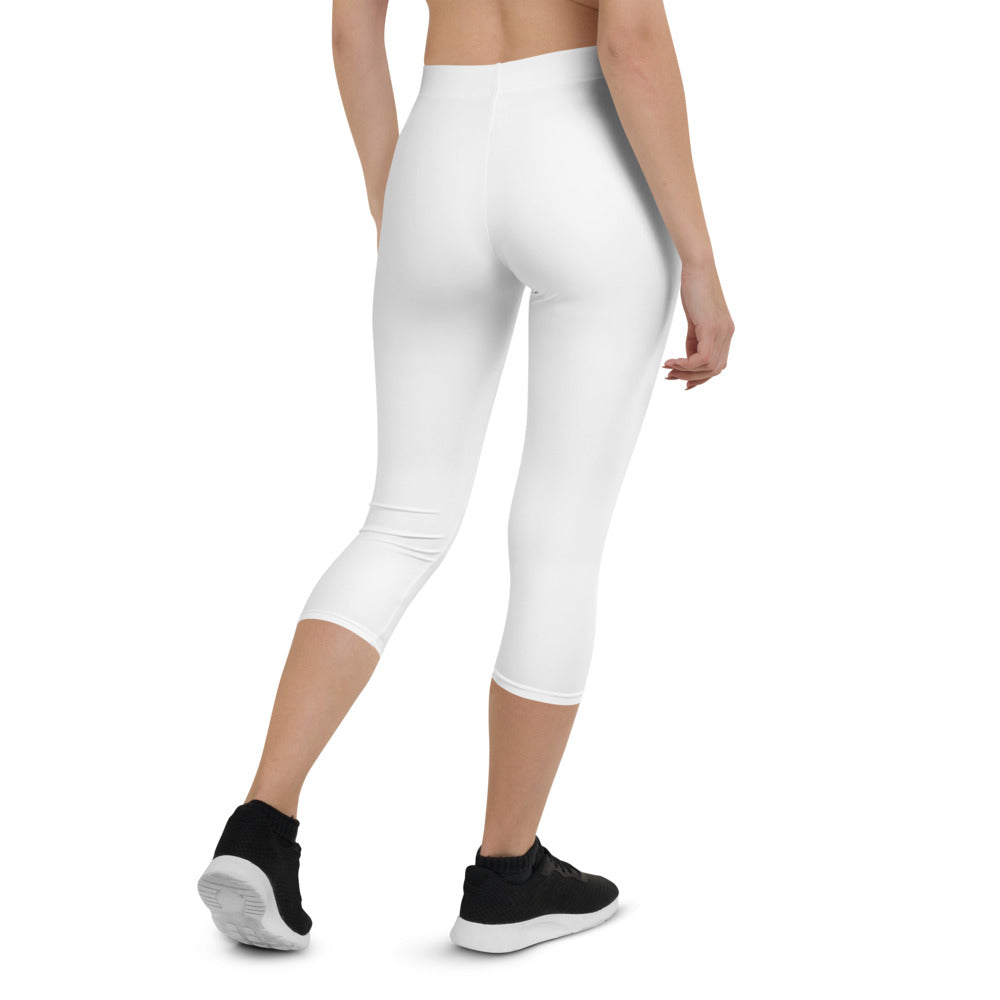 Capri Leggings White
