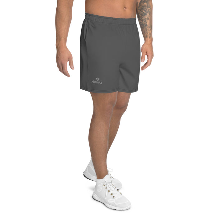 Men's Athletic Long Shorts Grey