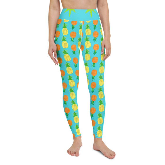 Yoga Leggings Pineapple