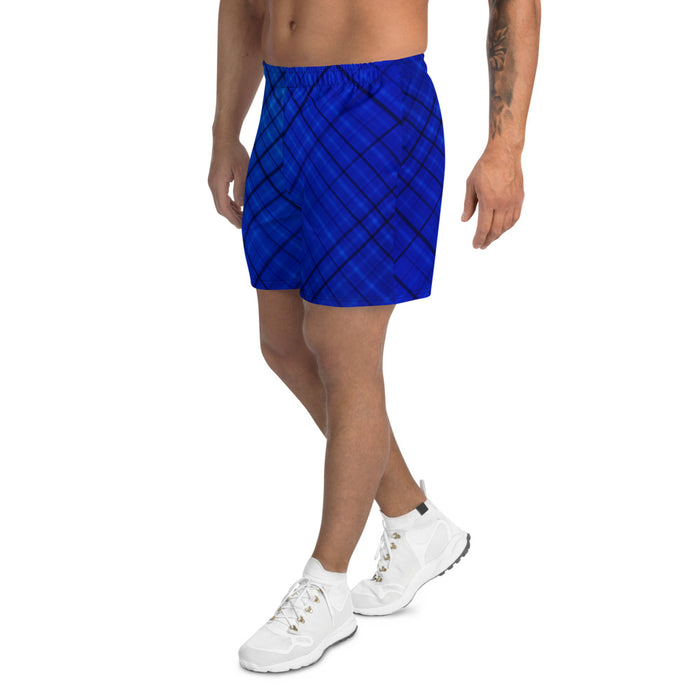 Men's Athletic Long Shorts Dark Blue