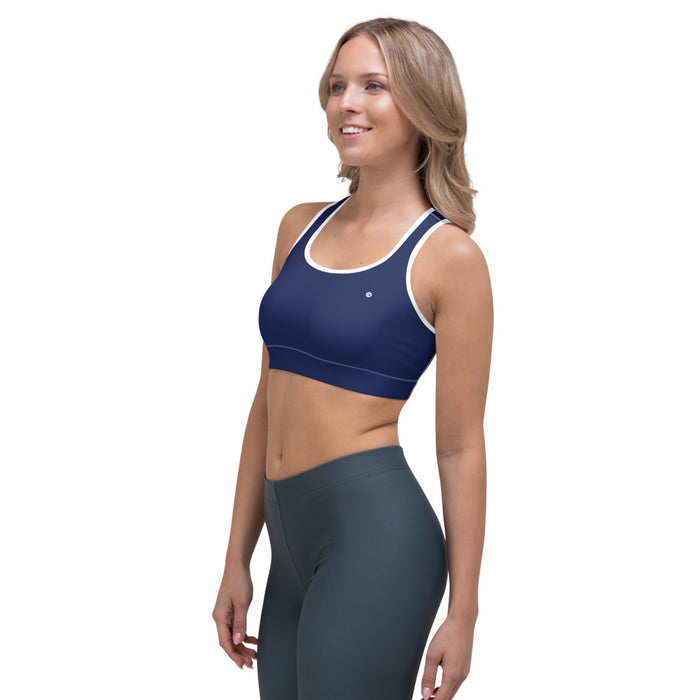 Sports Bra Blue Navy