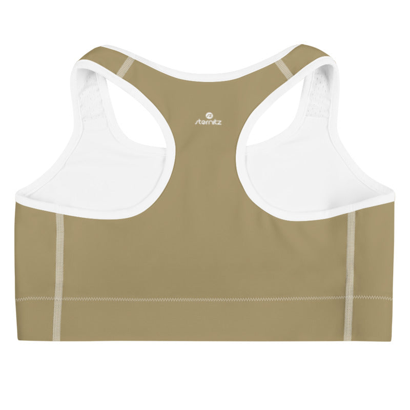 Sports Bra Brown