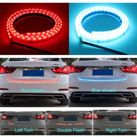 Dynamic Turn Signal Trunk Lights
