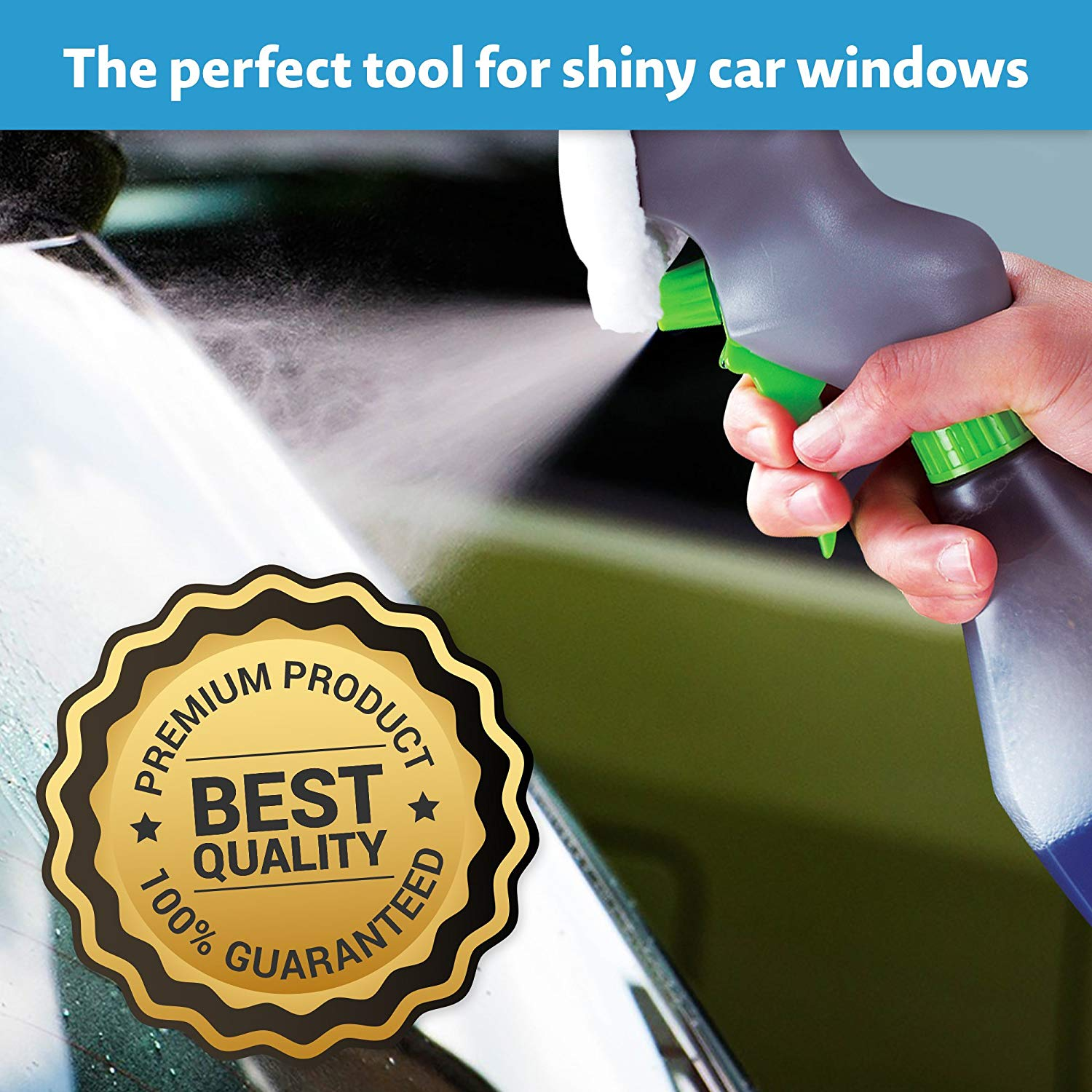 Magic Wiper Squeegee - 3 IN 1 WINDOW CLEANER