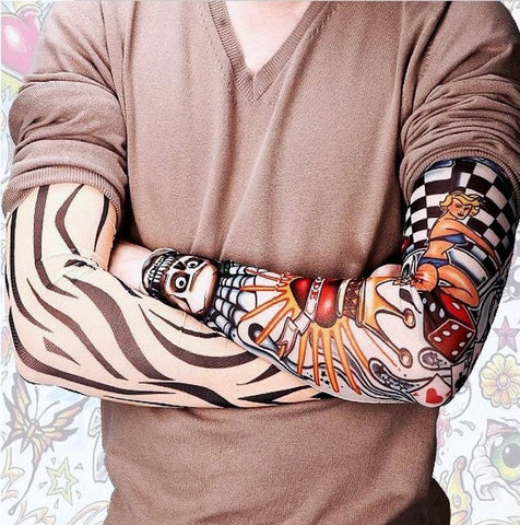 6PC TATTOO ARM SLEEVES KIT