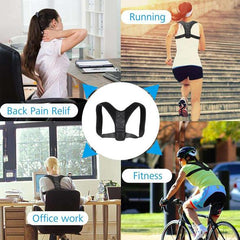 BoostingPosture - Posture Corrector (Adjustable to All Body Sizes)