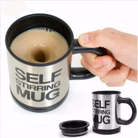 Lazy Self-Stirring Mug