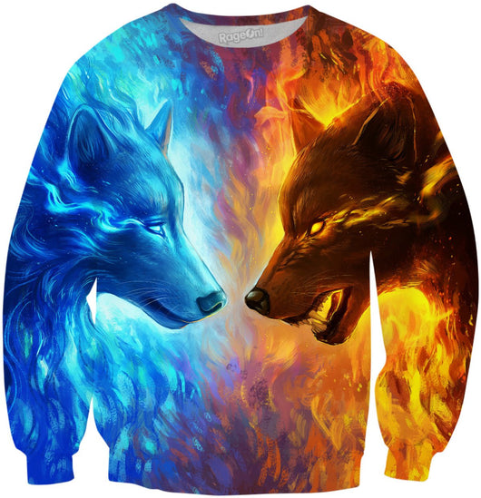 Ice and Fire Sweater