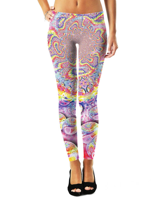 Rainbow Bubbles Leggings