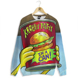 Krabby Patty Can Sweater