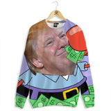 Donald Krabs Money Sweater