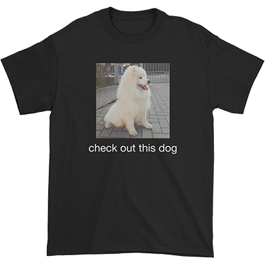 Check Out This Dog Tee