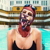 3D Animal Ski Masks