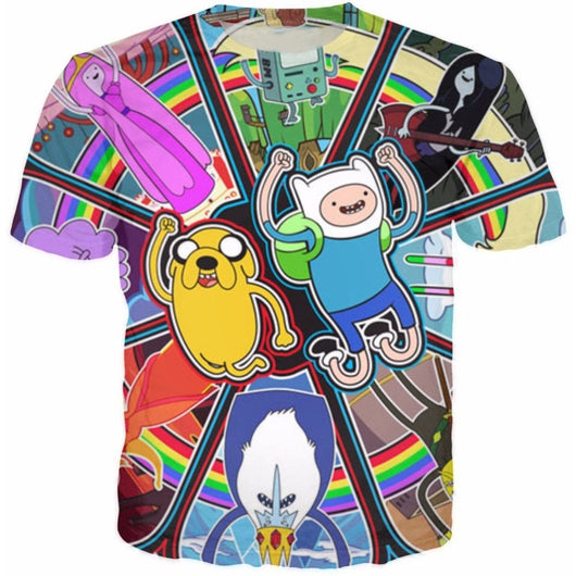 Adventure Time Warp Tee