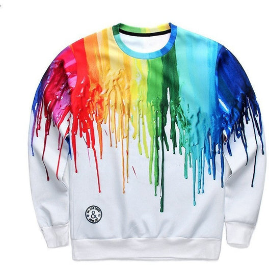 Color Drip Sweater